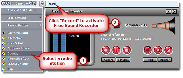 Activate Web Radio Recorder