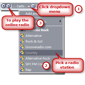 Play Online Radio