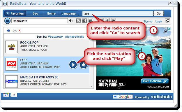 Radio Station Search