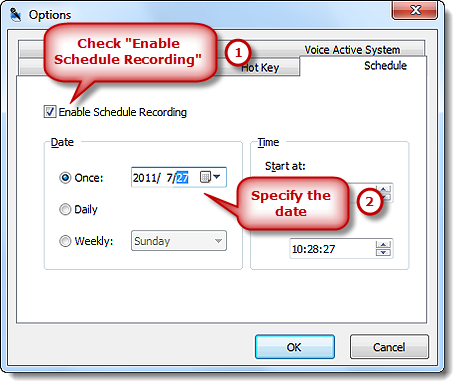 Tutorial - How to Schedule Recording?