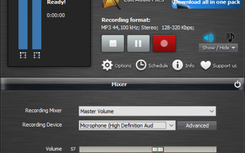 sound recording software free download full version