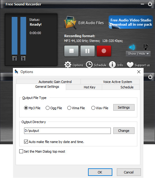 sound recording software free download mac